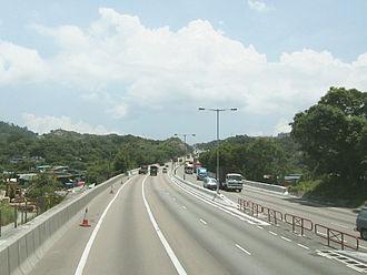 Tuen Mun Road - Tuen Mun Road near So Kwun Wat, Tuen Mun in 2005