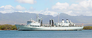 Canadian war ship