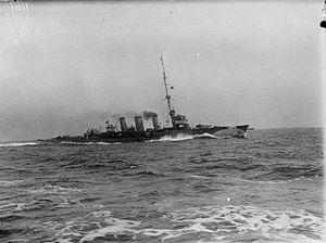 Arethusa-class cruiser (1913) - Image: HMS Arethusa (1913)