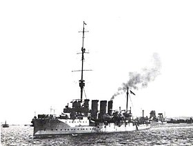 Image illustrative de l'article HMS Bristol (1910)