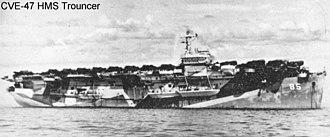 HMS Trouncer (D85) - Image: HMS Trouncer (D85)