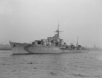 HMS Vigilant (R93) - Image: HMS Vigilant 1943 IWM FL 9580