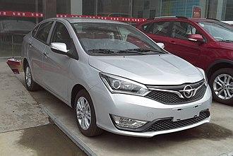 Haima M3 - Image: Haima M3 facelift China 2016 04 07