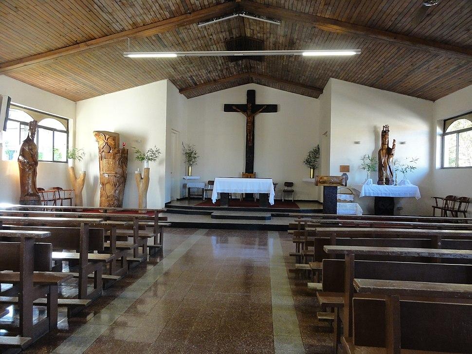 Hanga Roa Catholic Church interior