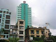 Bank w Hanoi.