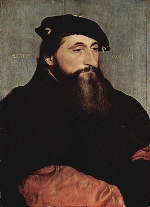 Antoine, Duke of Lorraine - Portrait by Hans Holbein the Younger, 1543