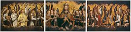 Hans Memling - Christ with Singing and Music-Making Angels - KMSKA 778-780.jpg