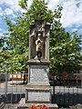 Harrer-Nitter gravestone, Belvárosi Cemetery in Esztergom, Hungary.jpg