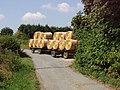 Harvest home^ - straw bales arrive at Upper Copcourt Farm - geograph.org.uk - 39126.jpg