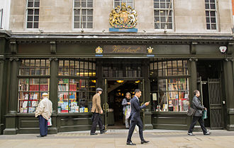 John Hatchard - Hatchard's bookshop today