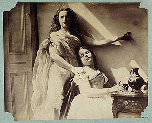 Clementina Maude, Viscountess Hawarden - Image: Hawarden clem maude flo 1863 4