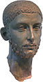 Head from a Bronze Statue of the Roman Emperor Alexander Severus.jpg