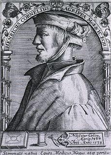 Heinrich Cornelius Agrippa Magician, occult writer, theologian, astrologer, alchemist