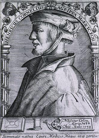 Heinrich Cornelius Agrippa - Image: Heinrich Cornelius Agrippa 00