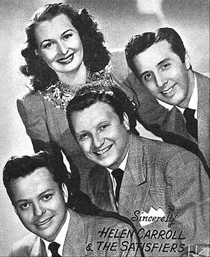 Helen Carroll and the Satisfiers - The group in 1948
