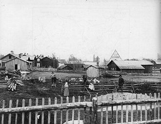 Vantaa - The historical parish of Helsingin Pitäjä in the late 1800s