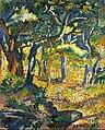 Henri Edmond Cross - Une clairière en Provence (Étude) - Google Art Project.jpg