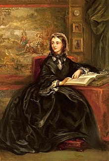 Portrait of Lady Chatterton, c. 1859, by her niece Rebecca Orpen