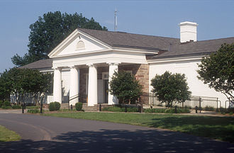 Prince William County, Virginia - The Manassas National Battlefield Park visitors' center in July 2003.