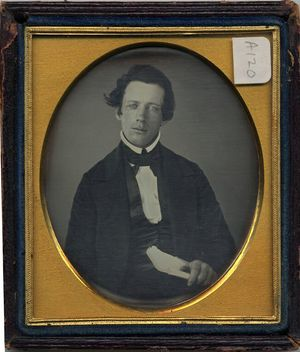Henry Ward Beecher - Daguerreotype of Beecher as a young man