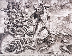 Nicolaes Jonghelinck - Hercules Killing the Lernean Hydra