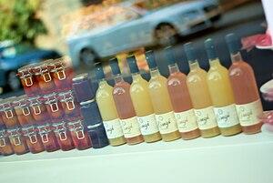Hermetic fruit jam and juice