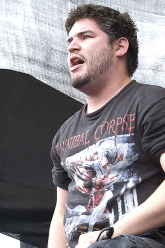 All Shall Perish - Vocalist Hermida in 2008