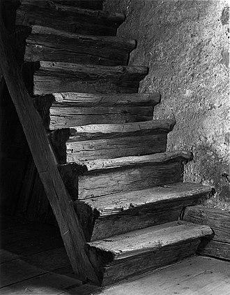 Hans Herr House - Staircase in the Herr House