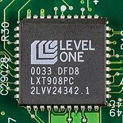 Hewlett-Packard JetDirect 170X - board - Level One LXT908PC-2502.jpg