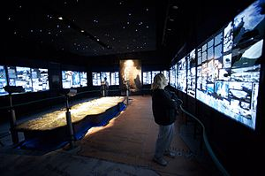 Glaciarium (museum) -  Interior of the exhibit halls