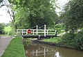 Higgins Clough Swing Bridge, Upper Peak Forest Canal, Cheshire - geograph.org.uk - 573349.jpg
