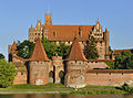 High Castle and bastions in Malbork.jpg