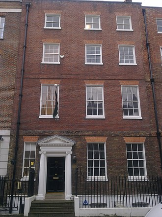 High Commission of Malawi, London - Image: High Commission of Malawi in London 1