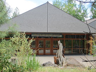High Desert Museum - Museum front entrance