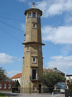 Harwich - The Harwich High Lighthouse of 1818