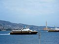 High Speed Crafts entering Messina Harbour - 8 Sept. 2008.jpg