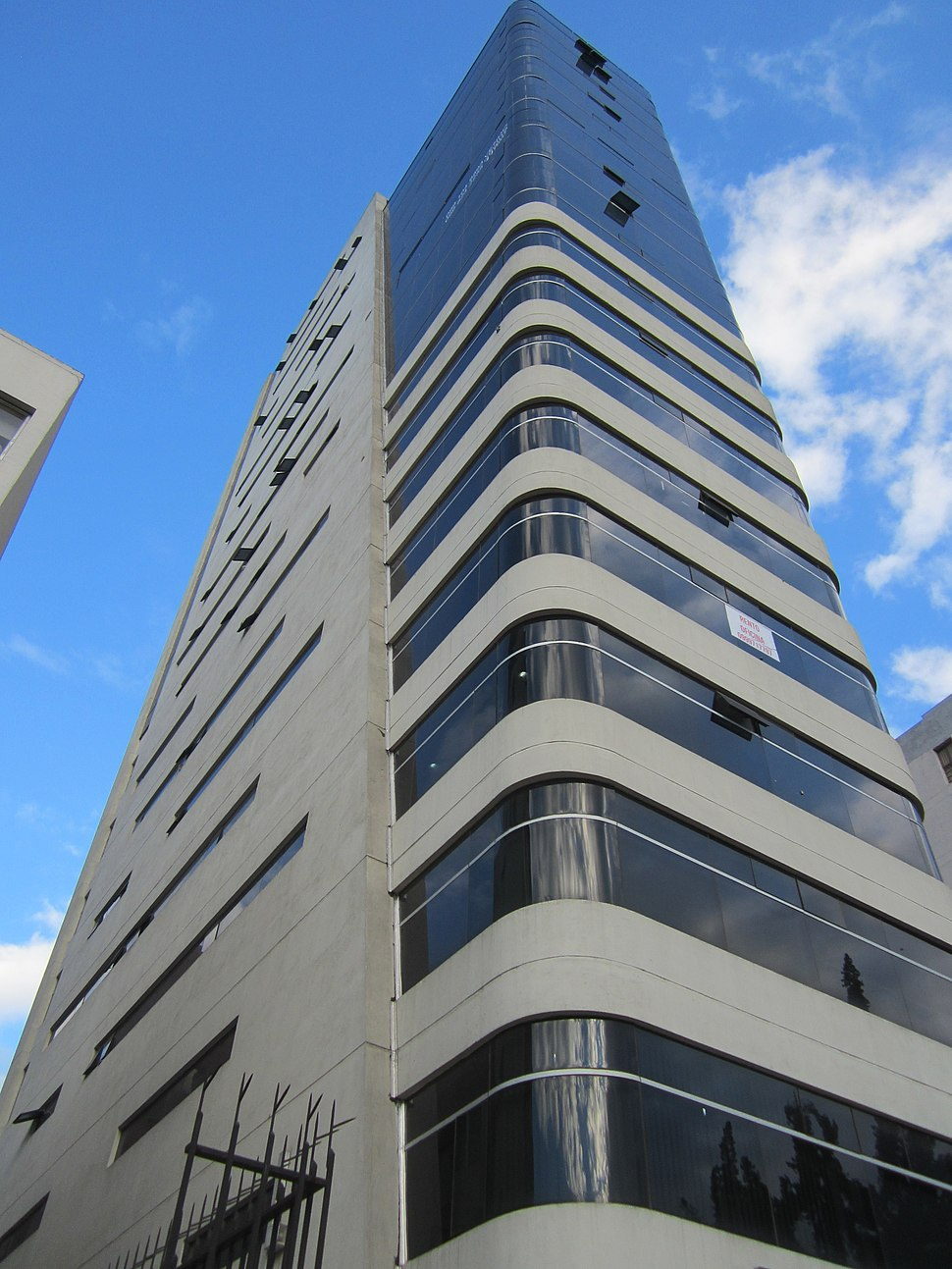 Highrises in Quito, Modern Building in Quito, capital city of Ecuador,.picture.zz8