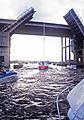 Highway 146 Bridges over Clear Creek, Kemah, Texas, May, 1985 (13428821615).jpg