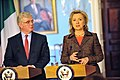 Hillary Rodham Clinton and Éamon Gilmore.jpg