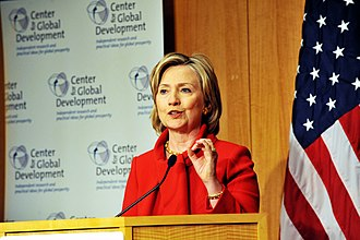 Center for Global Development - Secretary Clinton speaks at CGD about development in the 21st century.