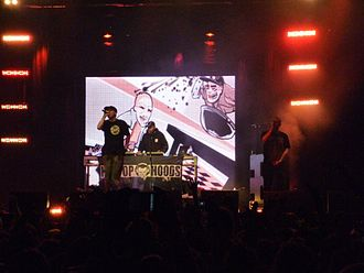Hilltop Hoods - Hilltop Hoods performing at the One Movement Music Festival in October 2009, Inglewood, Western Australia.
