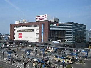 Hirosaki Station Railway station in Hirosaki, Aomori Prefecture, Japan