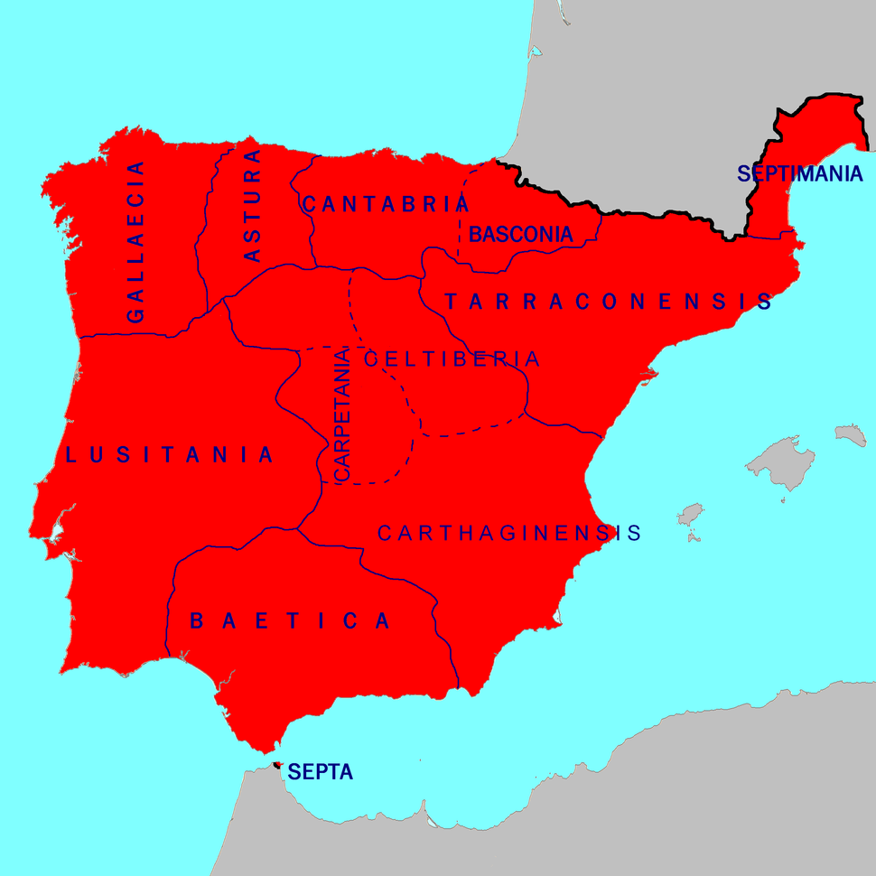 Hispania 700 AD