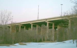 Hogg's Hollow Bridge - Image: Hogg's Hollow Bridge