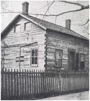 Peter Bruner - Image: Home where Peter Bruner lived as a young man