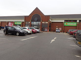 Homebase - A former Texas Homecare branch in Harrogate, North Yorkshire now in Homebase branding.