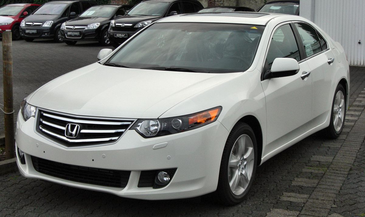 Honda accord 8 generation wikipedia for Honda accord generations