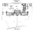 Hospital; ground floor plan of Addenbrookes Hospital. Wellcome L0000314.jpg