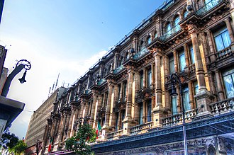 Mexico City - French-styled architecture in Benito Juárez, Mexico City, whose architectural legacy remains in the neighborhoods  of Condesa, Zona Rosa, Centro Historico and Chapultepec.
