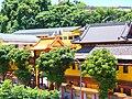 Huguo Chan Buddhist Temple Main Entrance Quarter View.jpg